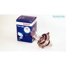 Лампочка H4 60/55 W Pure Light - Standart, 1987302041 BOSCH