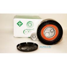 Натяжной ролик приводного ремня для VW Polo sedan CWVA, CWVB 1,6 (90 л.с., 110 л.с.), INA 531087110