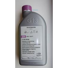 Антифриз G13 готовая смесь 1,5 литра (фиолетовый) до -36 VAG G013774M2