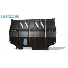 Стальная защита двигателя для VW Polo седан (Novline)